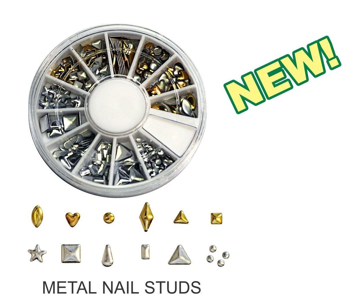 METAL NAIL STUDS - Nail Accessories - Lamour Nail Products Inc