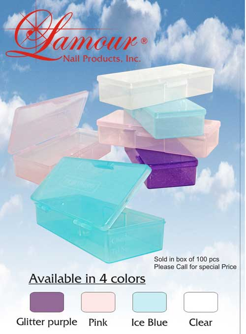 High Quality Personal Care Box - Nail Accessories - Lamour